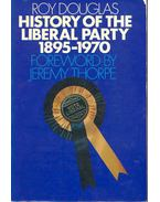 History of the Liberal Party 1895-1970
