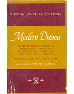 Modern Drama - Norton Critical Edition