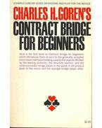 Contract Bridge for Beginners