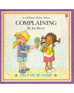 A Children's Book About Complaining