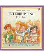 A Children's Book About Interrupting