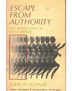 Escape from Authority - The Perspectives of Erich Fromm