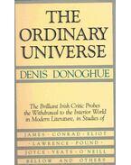 The Ordinary Universe