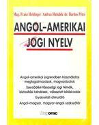 Angol - amerikai jogi nyelv