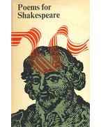 Poems for Shakespeare