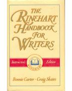 The Rinehart Handbook for Writers