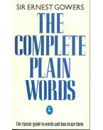 The Comlete Plain Words