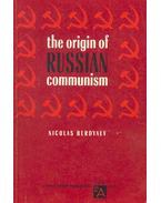 The Origins of Russian Communism
