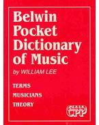 Belwin Pocket Dictionary of Music - Terms, Musicians, Theory