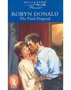 The Final Proposal - Donald, Robyn