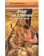 Bride on Approval