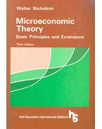 Microeconomic Theory - Basic Principles and Extensions