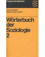 Wörterbuch der Soziologie 2
