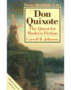 Twayne's Masterwork Studies - Don Quixote - The Quest for Modern Fiction