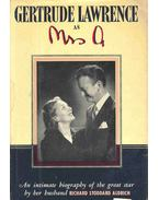 Gertrude Lawrence as Mrs. A