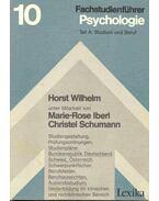 Fachstudienführer - Psychologie Teil A : Studium und Beruf
