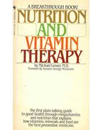 Nutrition and Vitamin Therapy