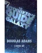 The Hitchhiker's Guide to the Galaxy - 5 Book Set: The Hitchhiker's Guide to the Galaxy; The Restaurant at the End of the Universe; Life, the Universe and Everything; So Long and Thanks for all the Fish; Mostly Harmless