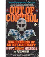 Out of Control - Confessions of an Nfl Casualty - HENDERSON, THOMAS