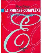 La phrase complexe - description et analyse
