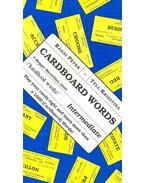 Cardboard Words