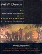 Call and Response - The Riverside Anthology of the African American Literary Tradition