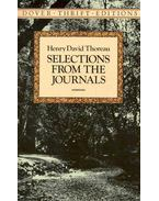Selection from the Journals