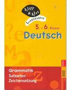 5.+6. Klasse Deutsch - Grammatik: Satzarten, Zeichensetzung