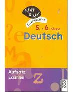 5.+6. Klasse Deutsch - Aufsatz, Erzählen