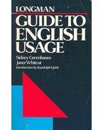 Longman - Guide to English Usage
