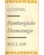 Hamburgische Dramaturgie - Lessing, Gotthold Ephraim
