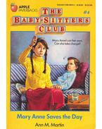 The Baby-Sitters Club #4 - Mary Anne Saves the Day