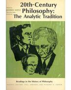 20th-Century Philosophy: The Analytic Tradition