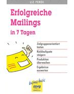 Erfolgreiche Mailings in 7 Tagen