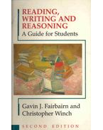 Reading, Writing and Reasoning - A Guide for Students