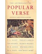The Anthology of Popular Verse