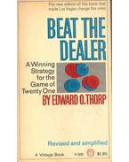Beat the Dealer - A Winning Strategy for the Game of Twenty One