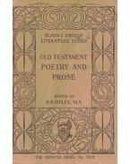 Old Testament Poetry and Prose