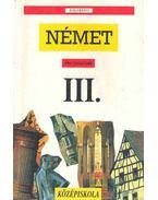 Német III. - Középiskola