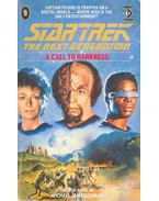 Star Trek - The Next Generation - A Call to Darkness - Friedman, Michael Jan