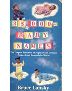 35000 Baby Names