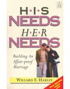 His Needs - Her Needs - Building an Affair-Proof Marriage