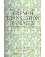 Twentieth Century French Translation Passages - Prose and Verse