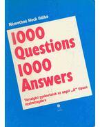 1000 Question 1000 Answers - Társalgási gyakolatok az angol A típusú nyelvvizsgákra
