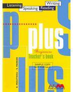Plus Beginners - Teacher's Book