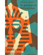 Es geschah im Bellona-Klub (Titel des Originals: The Unplesantness at the Bellona-Club)
