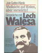 Vielleicht auf Knien, aber vorwärts! - Gespräche mit Lech Walesa