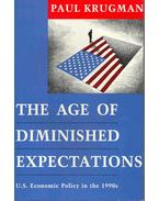 The Age of Diminished Expectations - U.S. Economic Policy in the 1990s