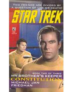 Star Trek - My Brother's Keeper Construction - Friedman, Michael Jan