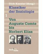 Klassiker der Soziologie - Von Auguste Comte bis Norbert Elias